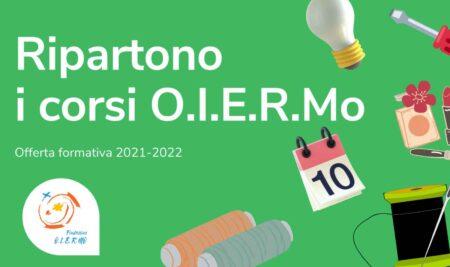 Fondazione O.I.E.R.Mo, al via i Corsi di Formazione 2021 – 2022